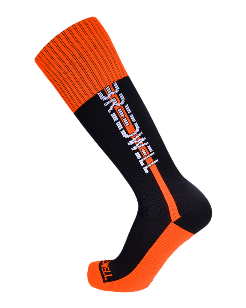 Breedwell Nightcrawler Socks-Socks-Breedwell-Orange-Men-Underwear-UnderBriefs