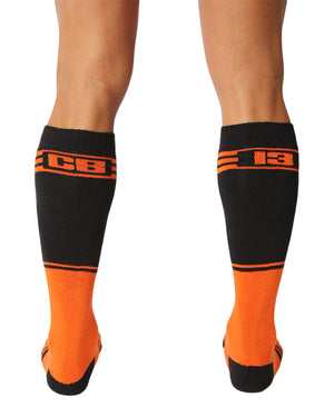 UnderBriefs | Underwear for Men | CellBlock 13 Torque 2.0 Socks Orange