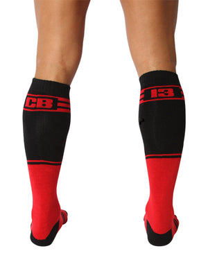 UnderBriefs | Underwear for Men | CellBlock 13 Torque 2.0 Socks Red