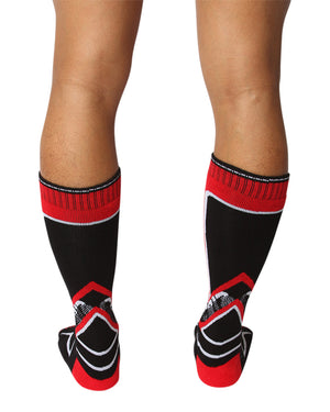 UnderBriefs | Underwear for Men | CellBlock 13 Kennel Club 2.0 Mid-Calf Socks Red