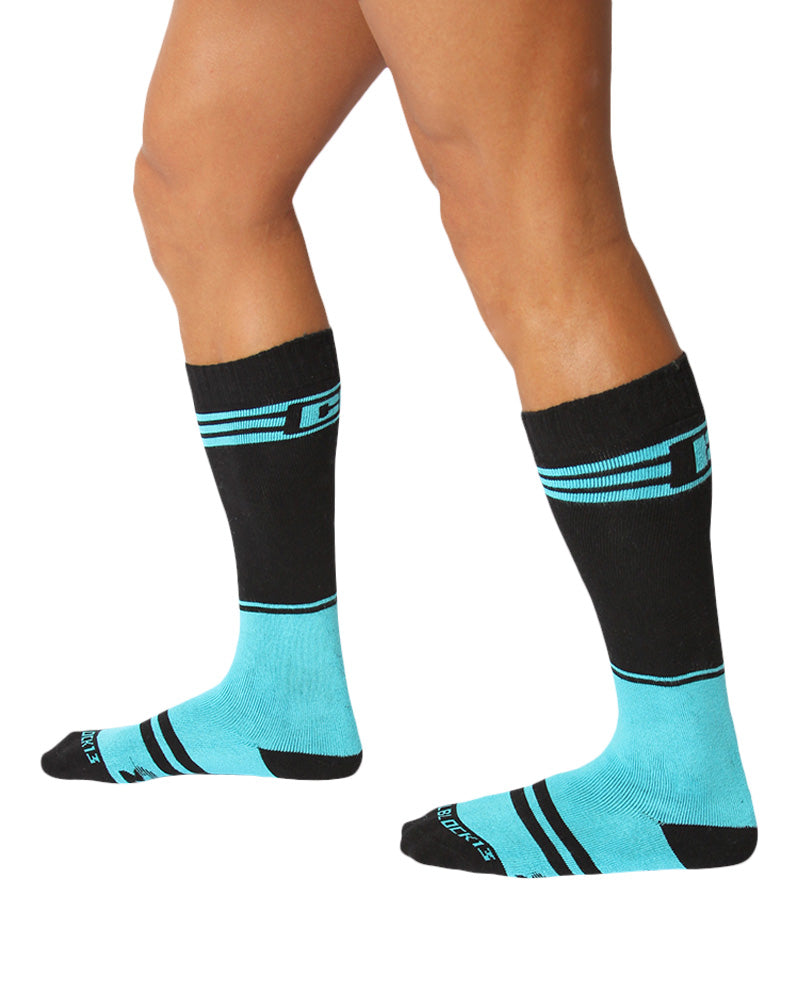 UnderBriefs | Underwear for Men | CellBlock 13 Torque 2.0 Socks Turquoise