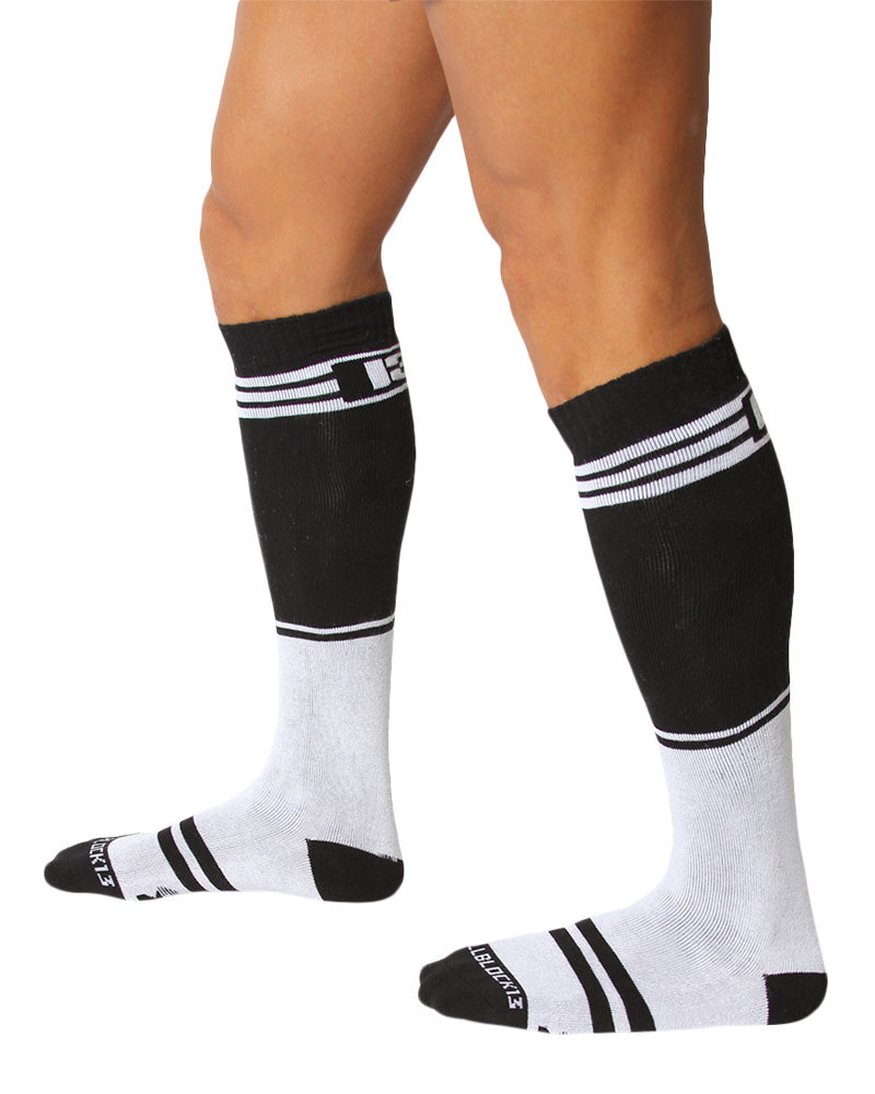 UnderBriefs | Underwear for Men | CellBlock 13 Torque 2.0 Socks White