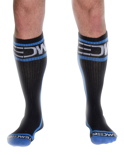 UnderBriefs | Underwear for Men | Breedwell Logo Socks Blue