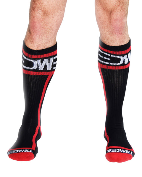 UnderBriefs | Underwear for Men | Breedwell Logo Socks Red