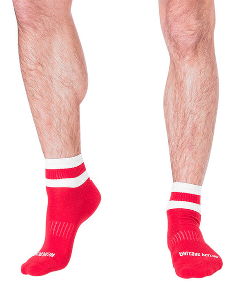 UnderBriefs | Underwear for Men | Barcode Berlin Petty Socks Red