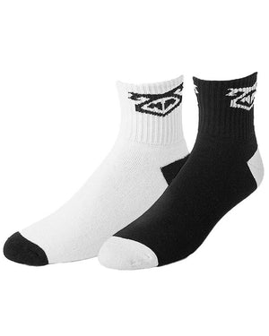 UnderBriefs | Underwear for Men | Nasty Pig Flasher Sock Two-Pack Black/White