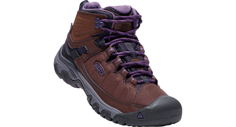 Keen Women's Targhee Exp Mid WP french roast/purple