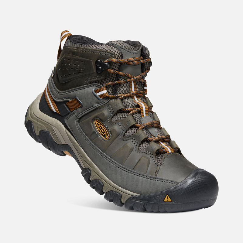 Keen Men's Targhee III Mid Waterproof black olive / golden