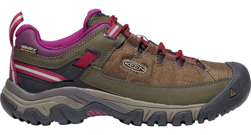 Keen Women's Targhee Exp WP canteen/grape wine