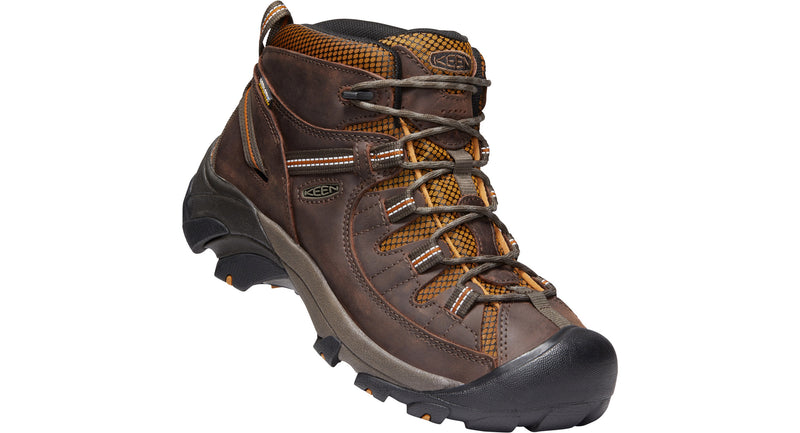 Keen Men's Targhee II Mid WP gringo/sudan brown
