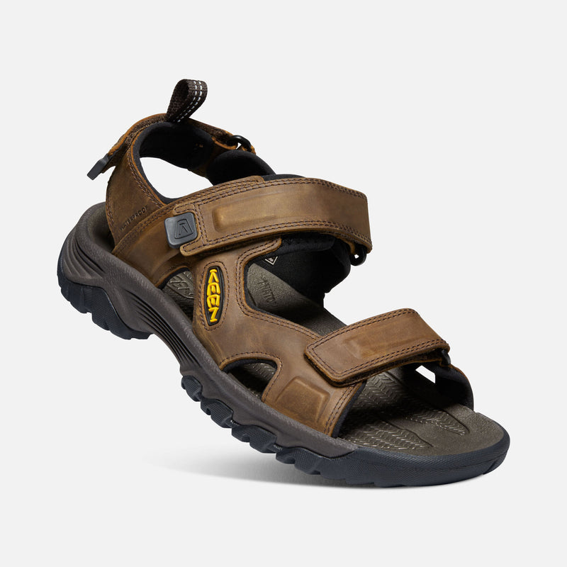 Keen Men's Targhee III Open Toe Sandal bison / mulch