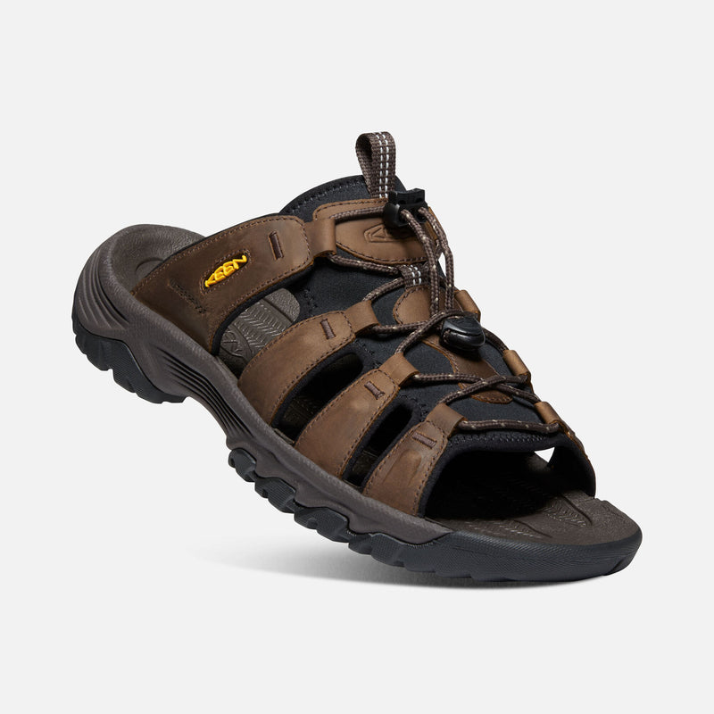 Keen Men's Targhee III Slide bison / mulch