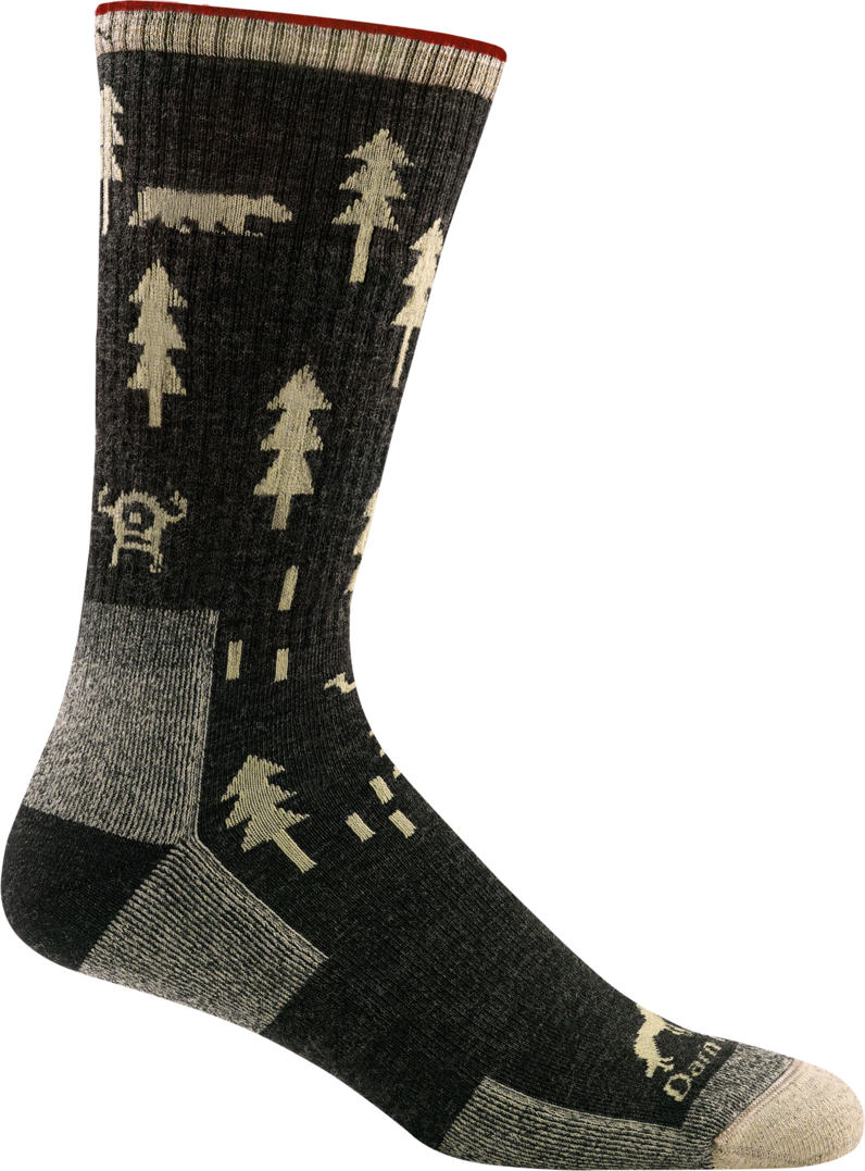 Darn Tough Men's ABC Boot Sock black
