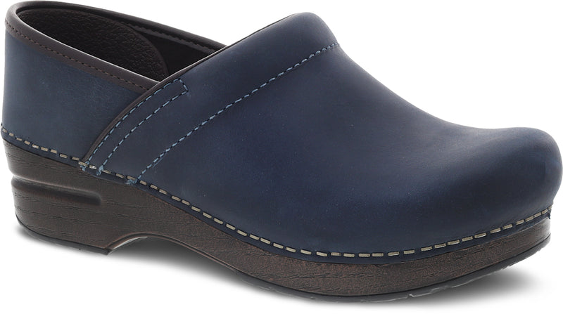 Dansko Professional blue oiled Pull Up