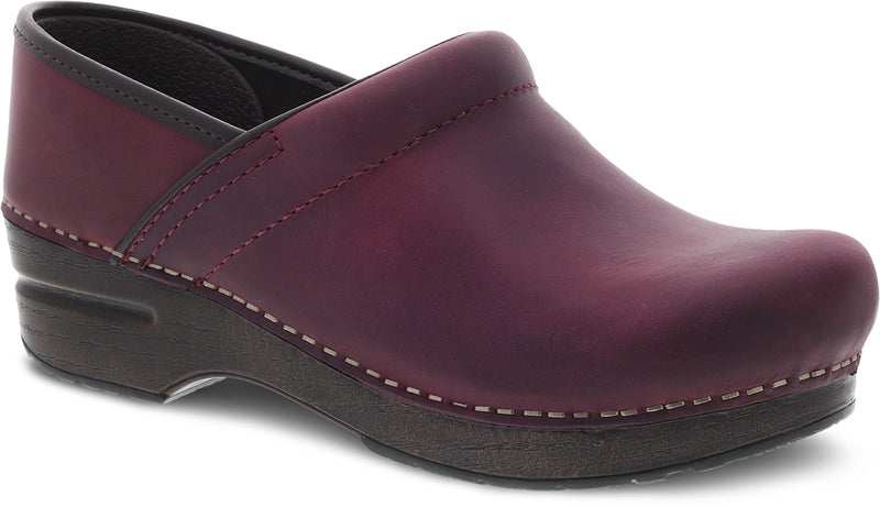 Dansko Professional plum oiled Pull Up