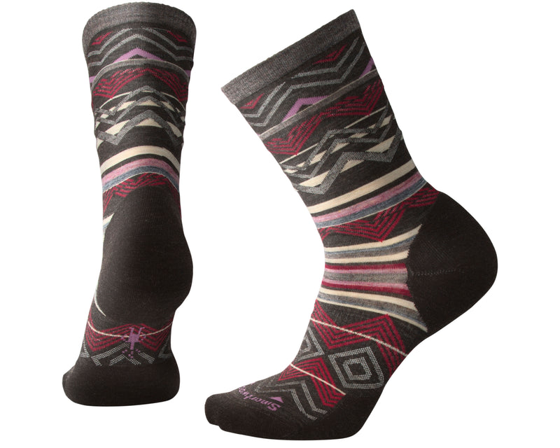 SmartWool Women's Ripple Creek Crew chestnut heather