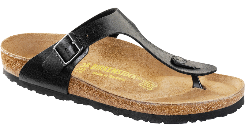 Birkenstock Gizeh licorice Birko-flor (narrow)
