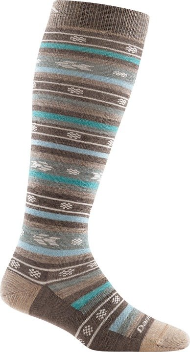 Darn Tough Women's Bronwyn Knee High Lightweight taupe