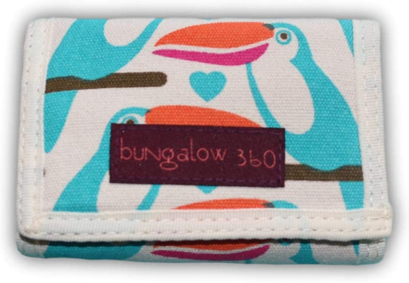 Bungalow 360 Trifold Wallet Toucan