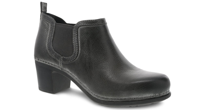 Dansko Women's Harlene charcoal distressed leather