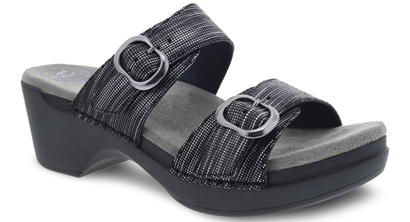 Dansko Sophie black metallic