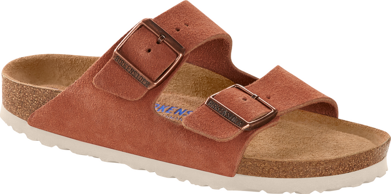 Birkenstock Arizona Soft Ftbd earth red suede