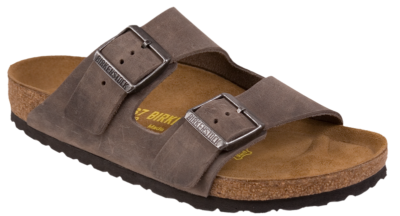 Birkenstock Arizona iron oiled leather