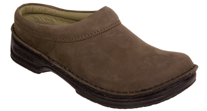 Footprints Alton espresso waxy leather narrow licensed by Birkenstock