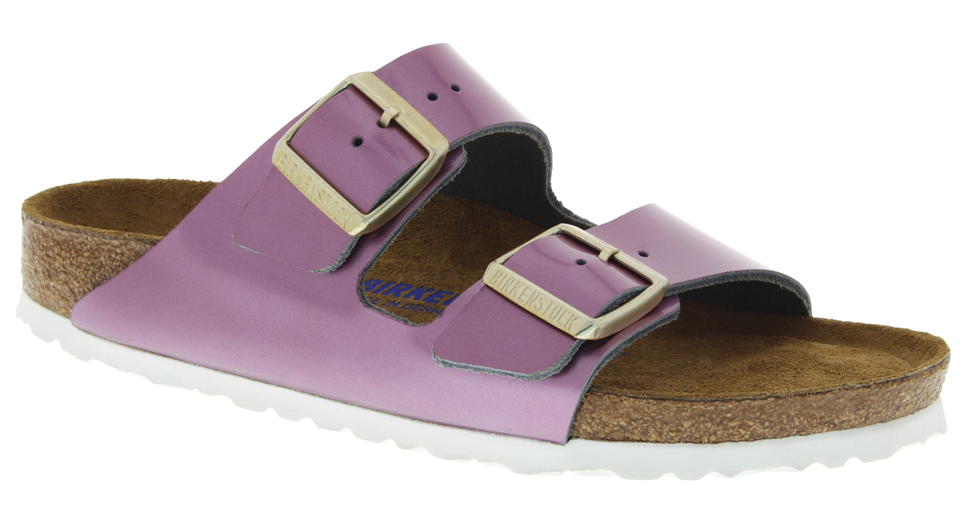 fb8f8300d5d Birkenstock Arizona Soft Ftbd spectacular rose leather – Footprints Lawrence