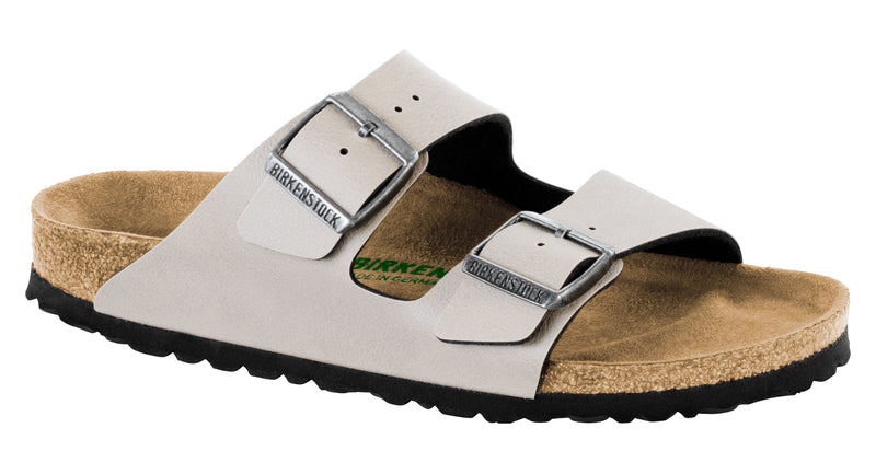 Birkenstock Arizona Vegan stone pull up Birko-flor