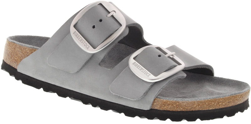Birkenstock Arizona Big Buckle dove gray nubuck