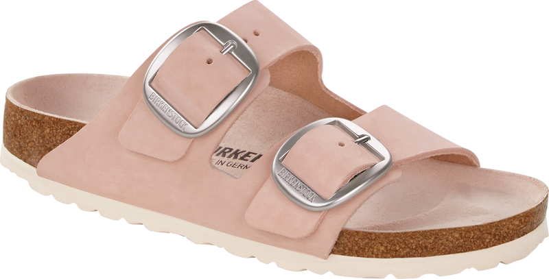 Birkenstock Arizona Big Buckle rose nubuck leather