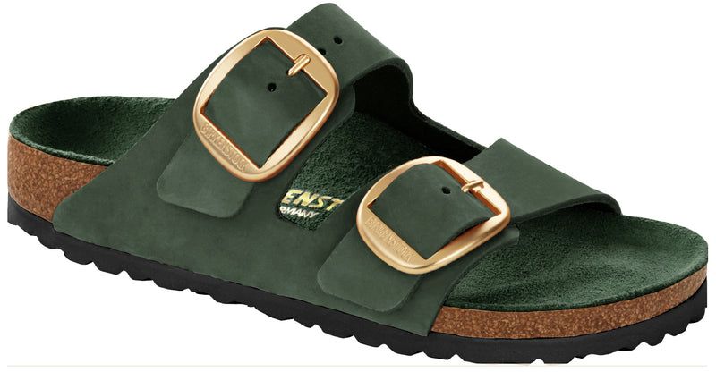 Birkenstock Arizona Big Buckle mountain view nubuck