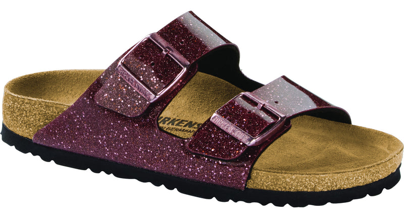Birkenstock Arizona cosmic sparkle port Birko-Flor