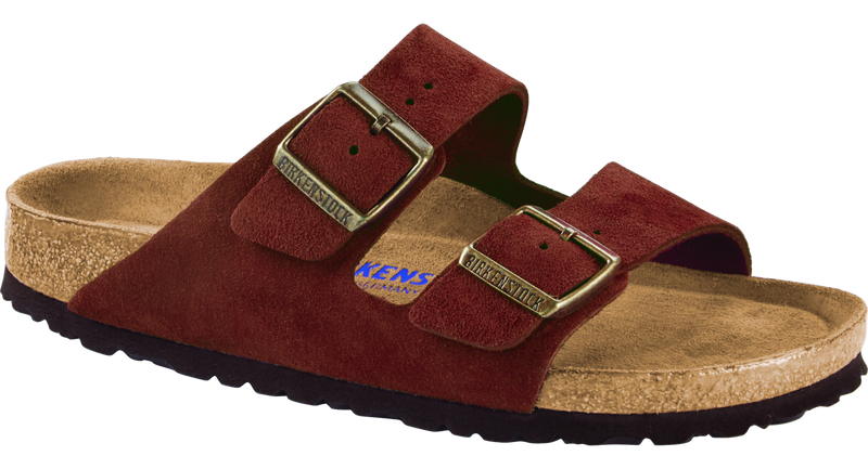 Birkenstock Arizona Soft Ftbd antique port suede