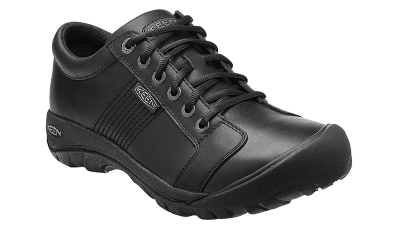 Keen Men's Austin black leather