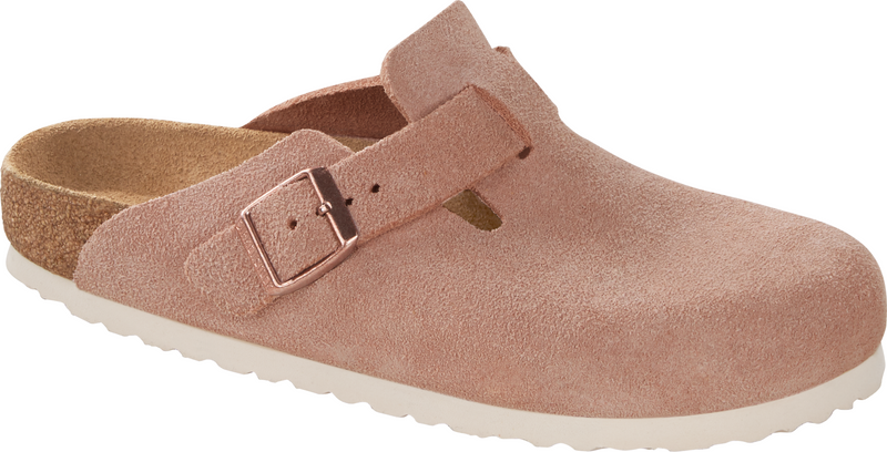 Birkenstock Boston light rose suede