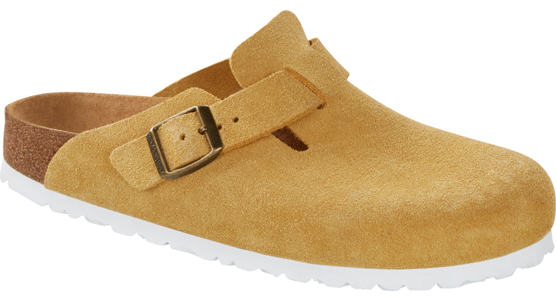 Birkenstock Boston ochre suede