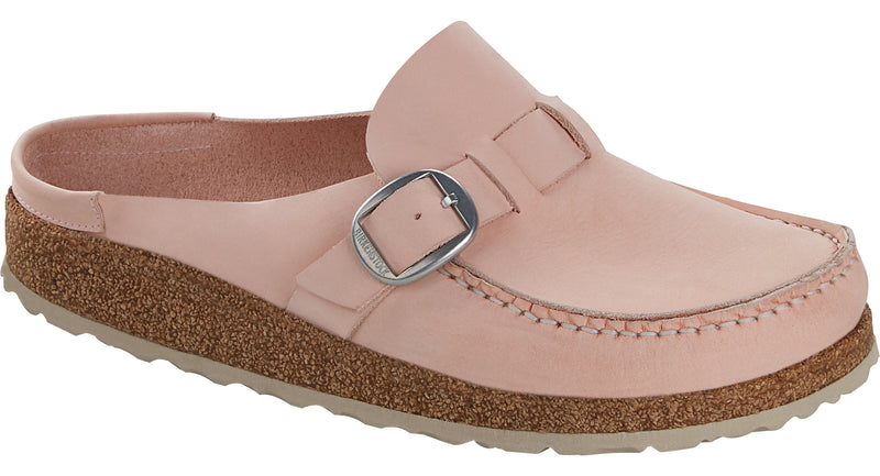 Birkenstock Buckley rose nubuck leather