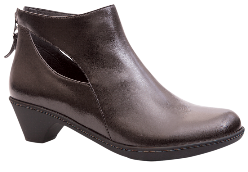 Dansko Bonita grey burnished nappa