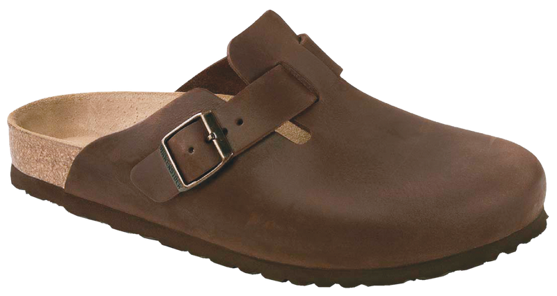 Birkenstock Boston habana oiled leather (narrow)
