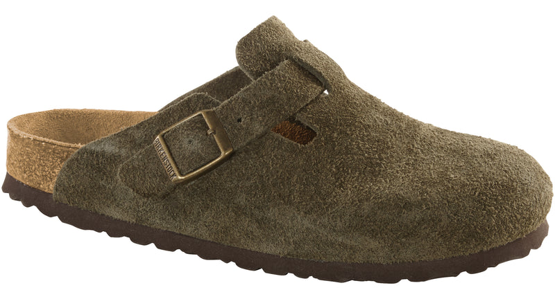 Birkenstock Boston Soft Ftbd forest suede
