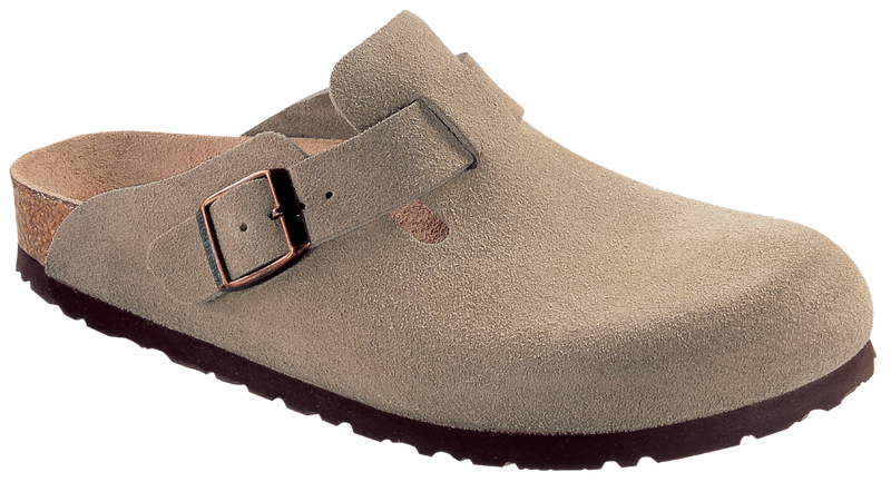 Birkenstock Boston taupe suede