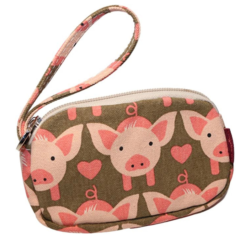 Bungalow 360 Clutch Coin Purse Pig