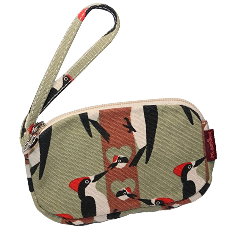 Bungalow 360 Clutch Coin Purse Woodpecker