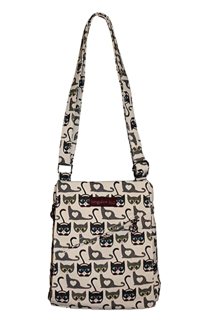 Bungalow 360 Small Messenger Bag Cat