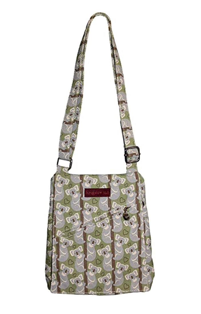 Bungalow 360 Small Messenger Bag Koala