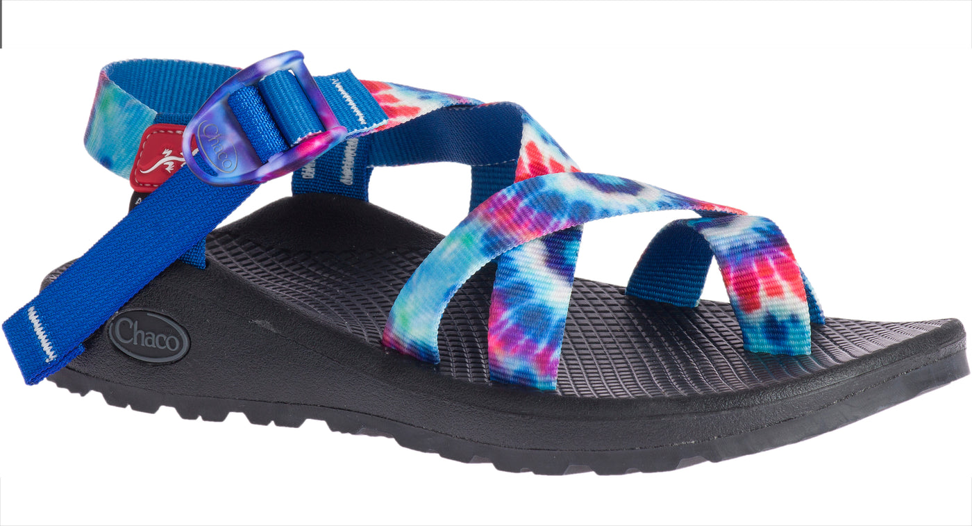 8e79ac15940 Chaco Women s Tie Dye Z 2 Classic red-white-blue – Footprints Lawrence