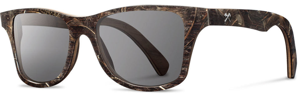 Shwood Canby Sunglasses black osprey feather