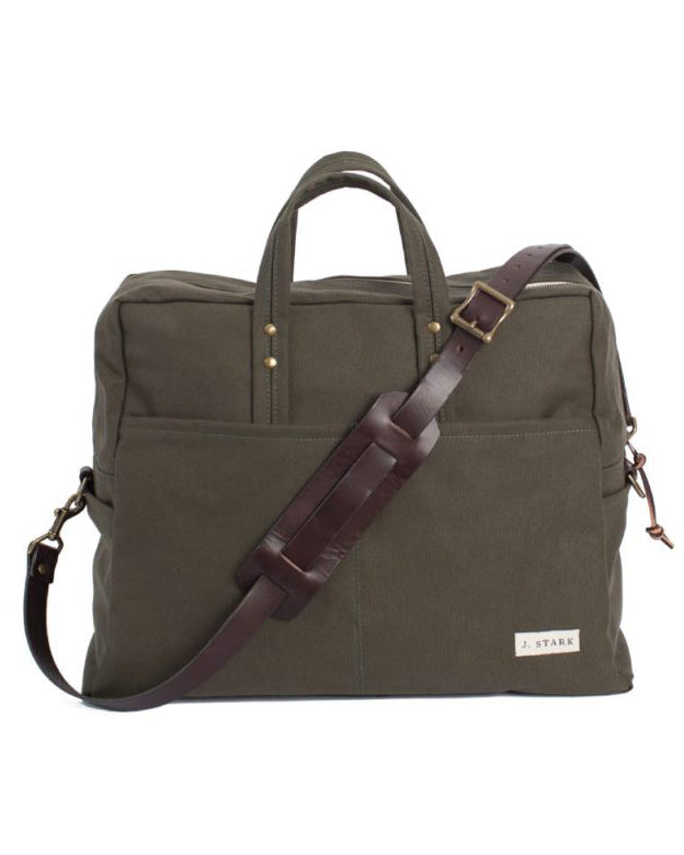 J Stark Catawba Weekender Canvas olive